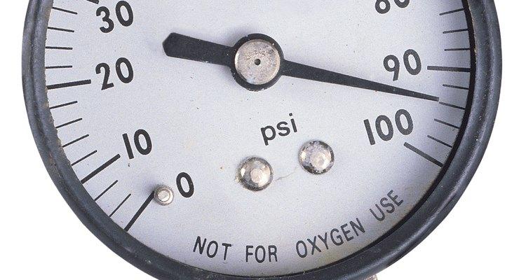 Um manômetro típico
