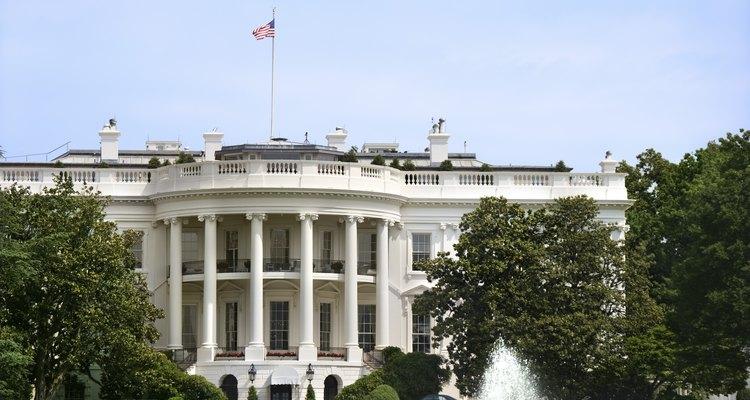 A Casa Branca simboliza a liderança norte-americana