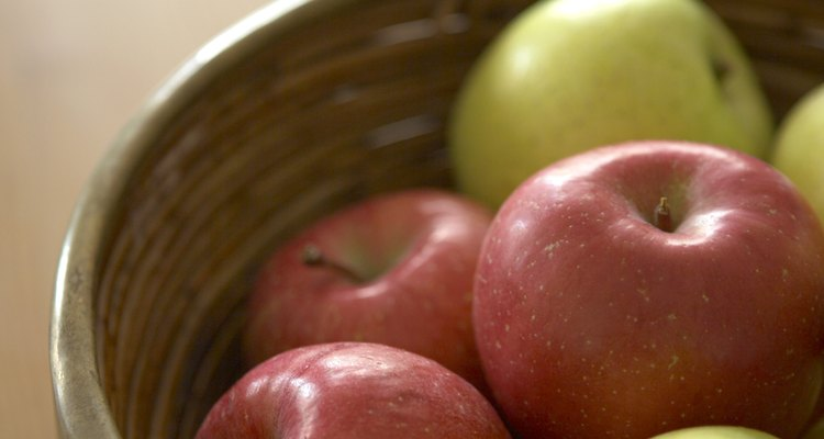 More juice is extracted from apples when pectinase is used.