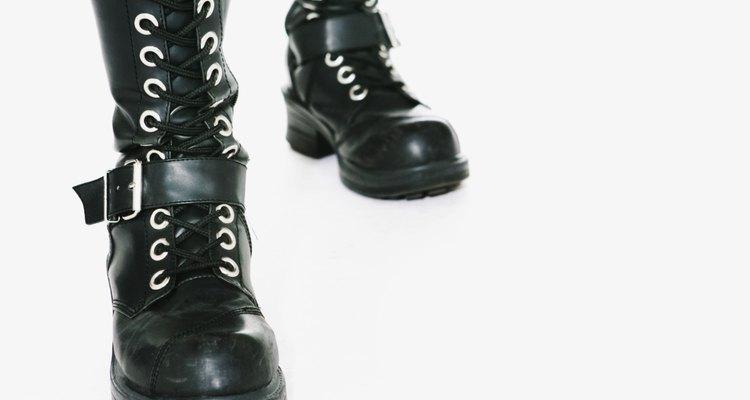 Las botas deben ajustarse perfectamente alrededor de la pantorrilla.