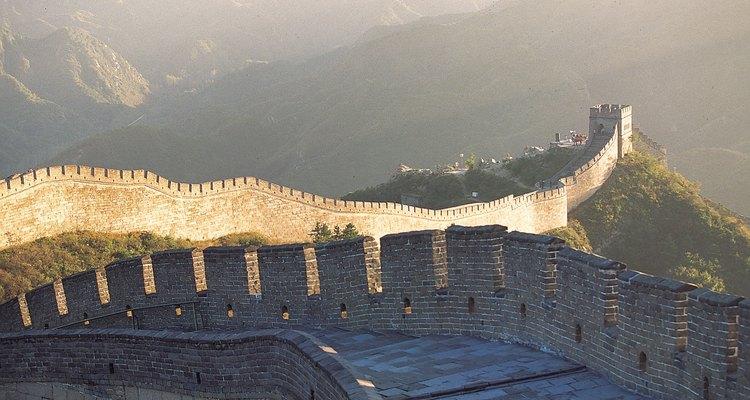 La Gran Muralla China es una de las maravillas del mundo.