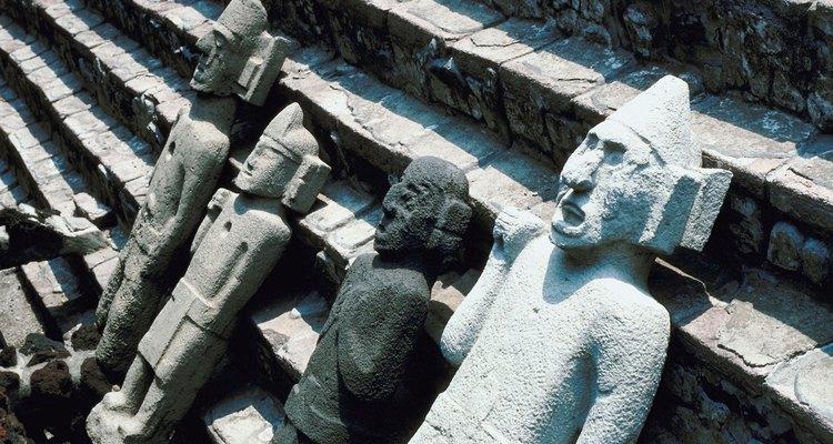 Religião era uma parte importante na vida dos astecas