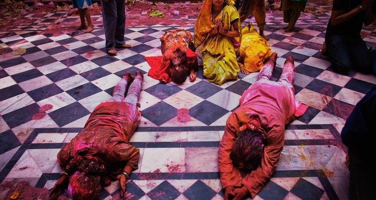Hindus Celebrate Holi In India
