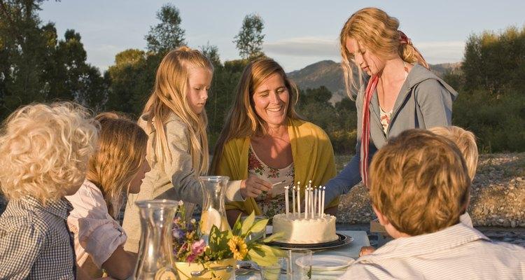 Celebrar un cumpleaños con tus seres queridos lo hace especial.