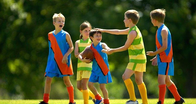 Los niños pueden liberar su agresión de formas saludables.