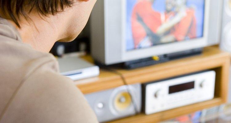 Uma rede habilitada para DVD permite assistir streaming de vídeos na sua TV.
