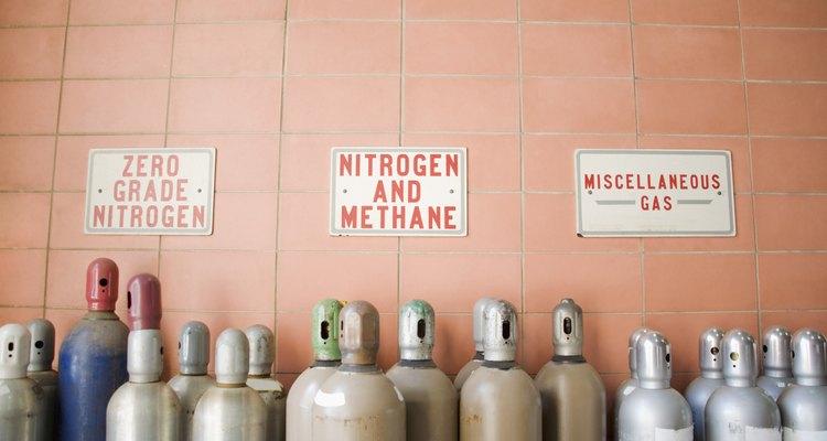 O transporte de cilindros de nitrogênio deve estar adequado a uma série de regulamentações