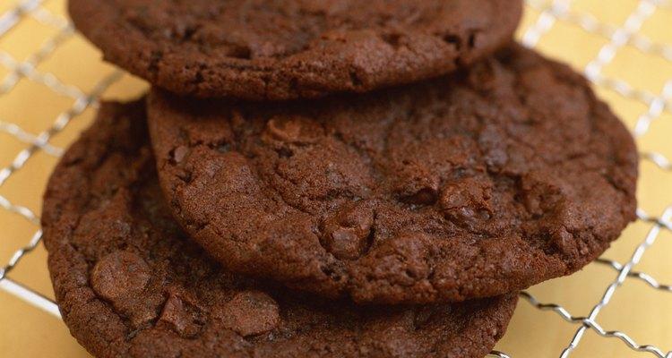 Las galletas de chocolate son las preferidas de los niños.