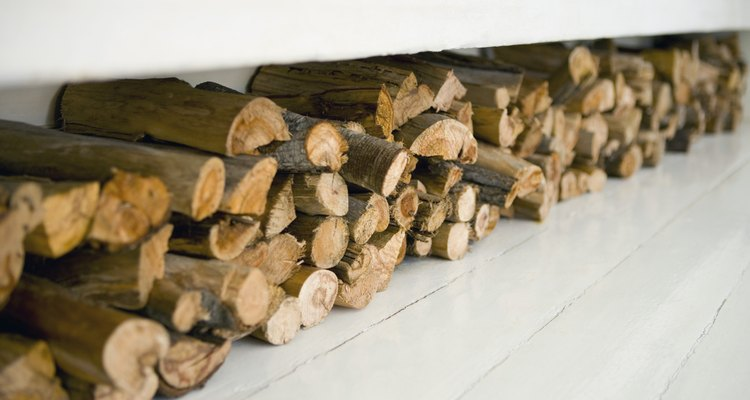 Many green interior decorators opt for pieces made from discarded wood cutoffs.