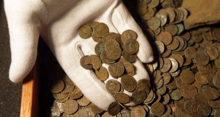Roman coins have an educational history.