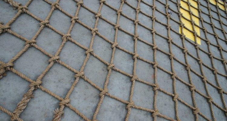 Simples nós podem formar uma rede de corda