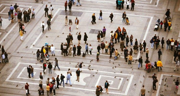 Un problema del aumento de población es la sobre población.