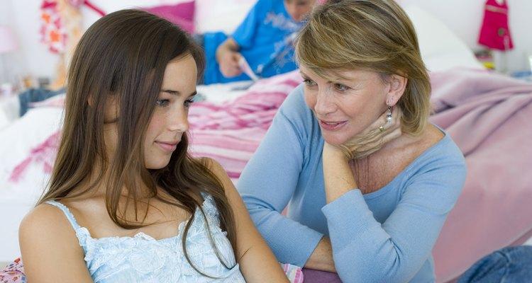 Los adolescentes tal vez no siempre saben cómo expresar sus sentimientos.