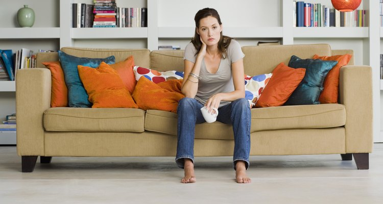 Every home is different and there are many options for placing a couch.