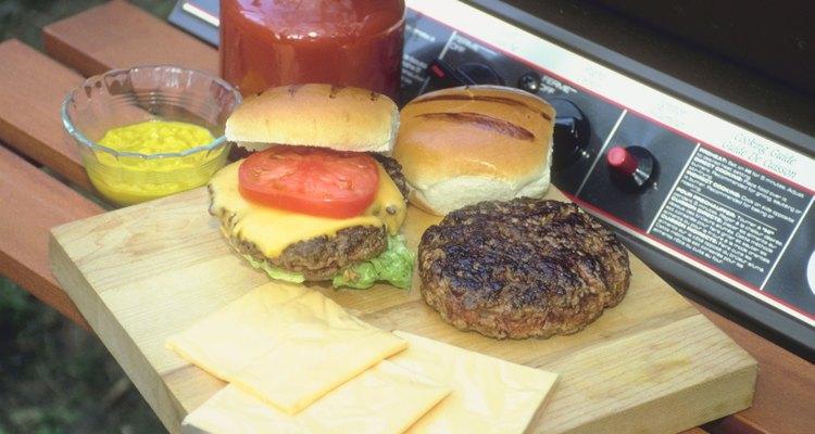 Las hamburguesas son una de las comidas favoritas en Estados Unidos.