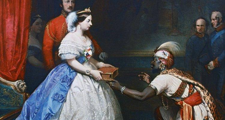 La reina Victoria de Inglaterra tuvo un largo y próspero período en el trono.