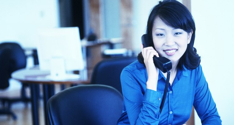 You can find out what company provides your landline phone service.