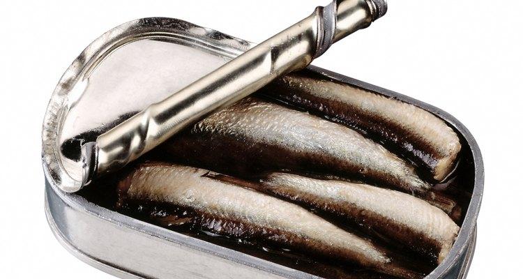 As sardinhas podem ser vendidas em latas