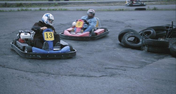 Motores potentes e compactos como os da Rotax fazem os pequenos karts decolarem