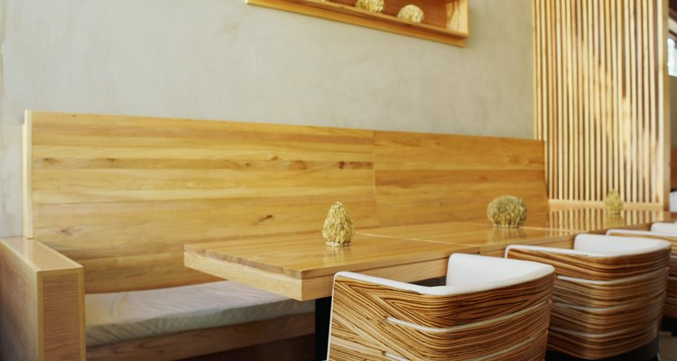 Match your wood offcut items to the overall aesthetic of your interior space.
