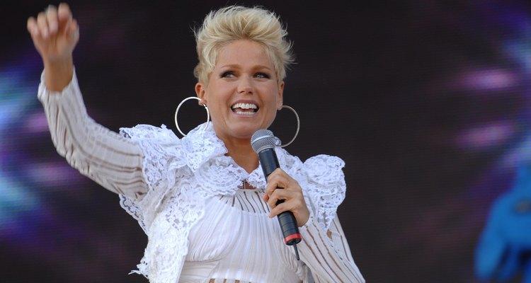 Xuxa fez participação especial em músicas do Trem da Alegria