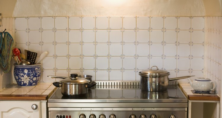 Ceramic glass hobs have smooth surfaces.