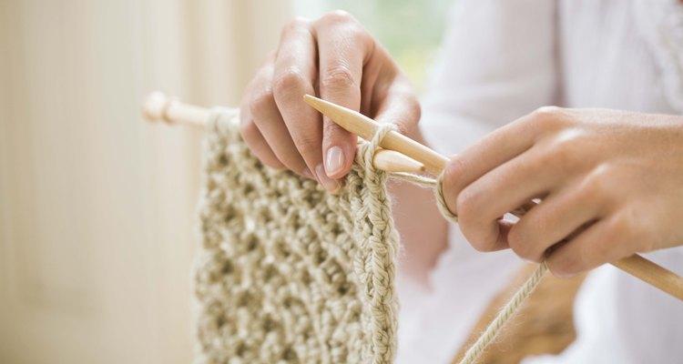 Cortinas de malha são um projeto fácil para qualquer tricoteira