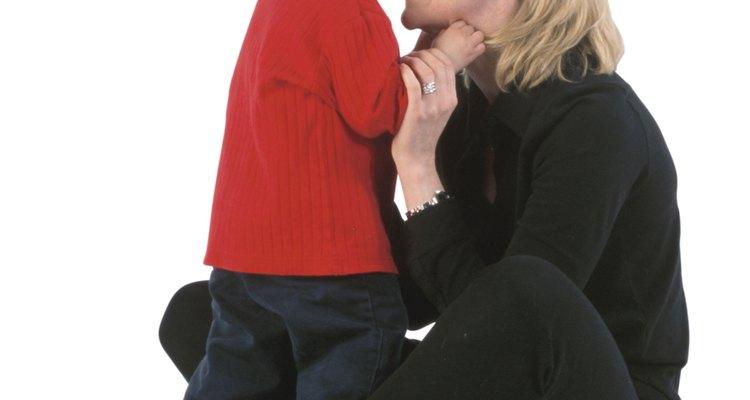 Dale a tu bebé algo que esté permitido morder.