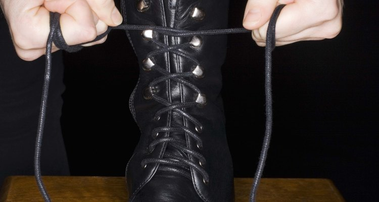 Most shoes have eyelets suited for the shoe's functionality.