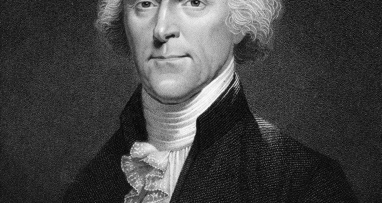 El imperialismo norteamericano comenzó con la adquisición del territorio de Luisiana por  Thomas Jefferson.