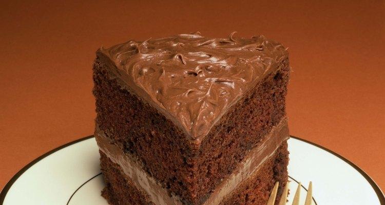 La torta húmeda es un postre decadente.