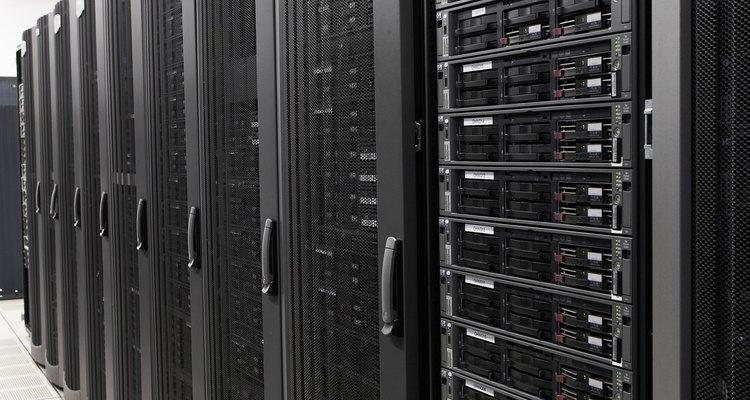 Mainframes geralmente são imponentemente grandes