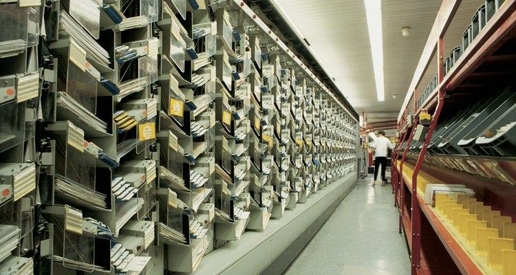 City sorter postal service , Germany , Berlin