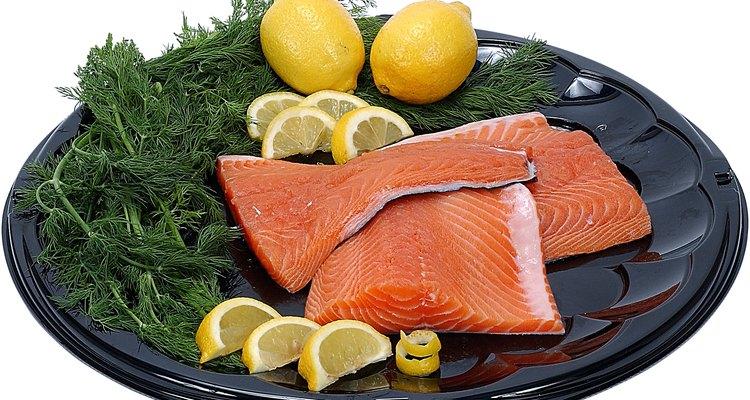 O filé de salmão pode ser extremamente saboroso