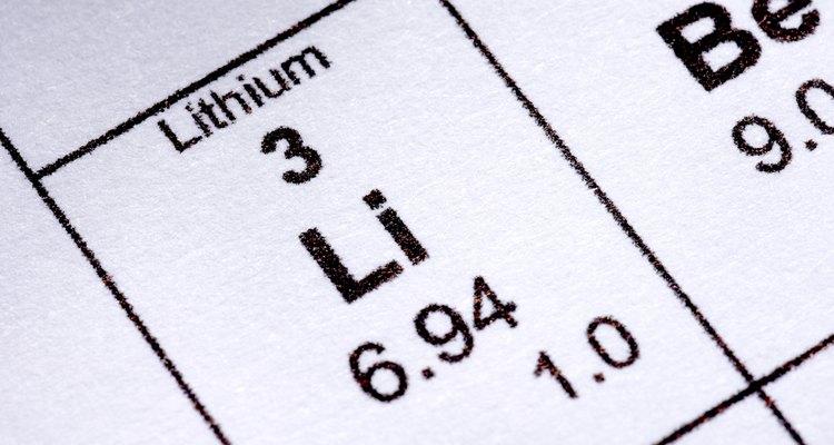 O lítio é um sal