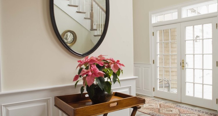 Painting mirrors can enhance the look of a room.