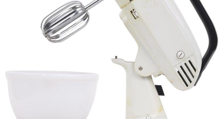 Una batidora da más control sobre cuán suavemente se mezclan los ingredientes.