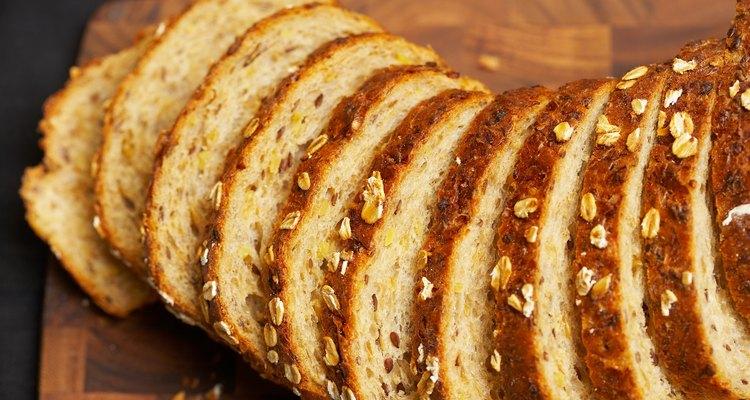 La harina de trigo sarraceno suele usarse para hacer panes.