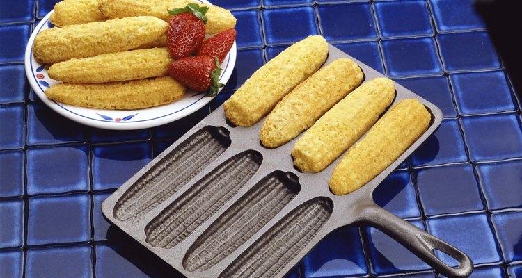 O fubá é o principal ingrediente da broa de milho