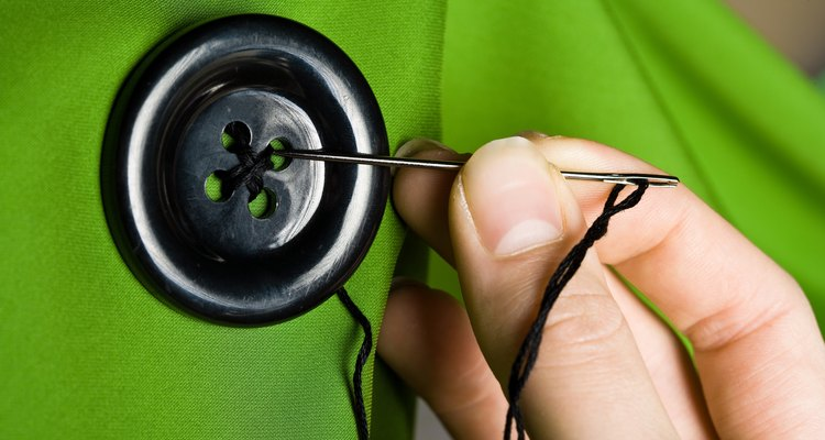 Be sure to sew the buttons on securely.