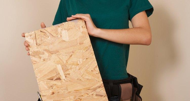 O compensado é um material de construção comum