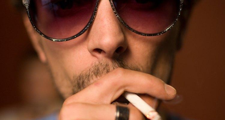 Seque e cure as folhas de tabaco de forma apropriada
