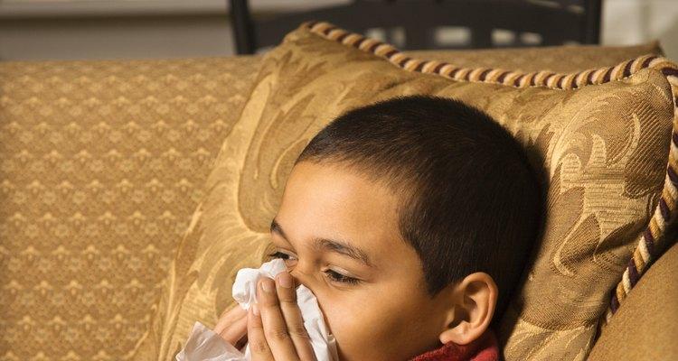 La congestión nasal puede hacer que dormir y comer sea difícil.