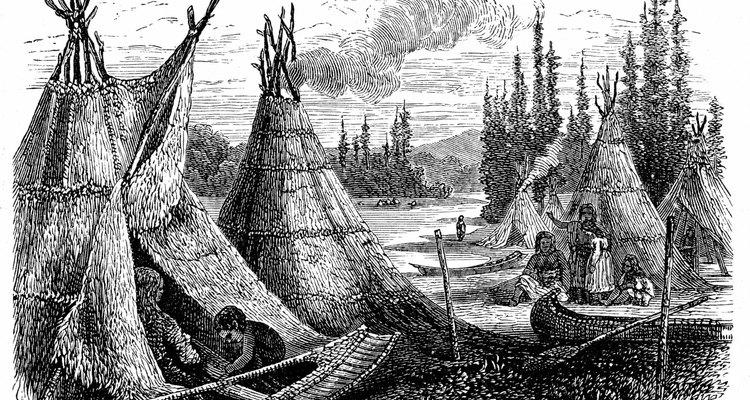 Los cherokee, una tribu todavía en existencia.