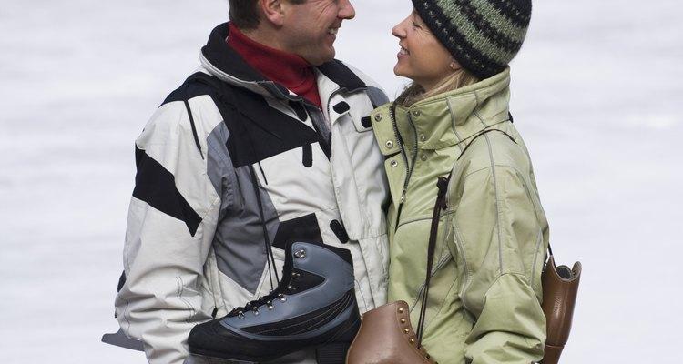 Las chaquetas de invierno forradas con vellón proporcionan un calor óptimo.