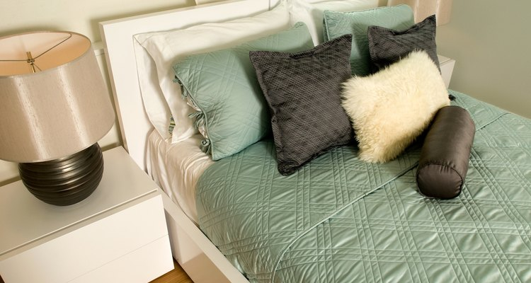 Pillows may be stuffed firmly or loosely without creating lumps.