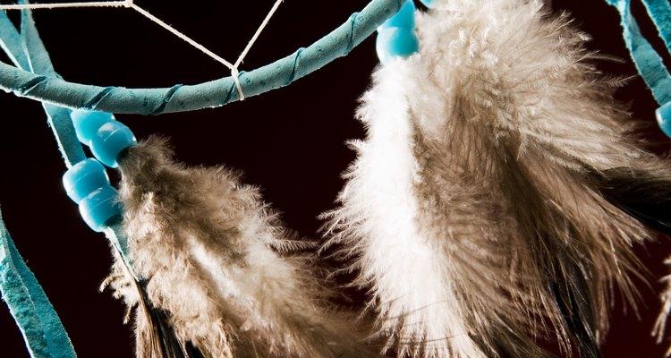 Os apanhadores de sonho são um dos artesanatos nativos mais reconhecidos