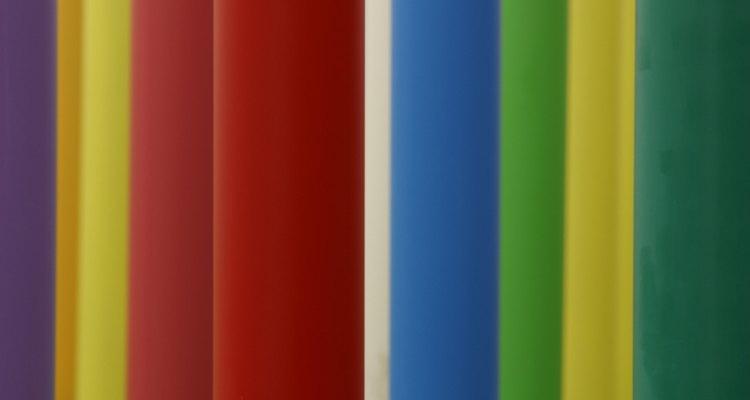 Diferentes colores absorben diferentes ondas de calor.