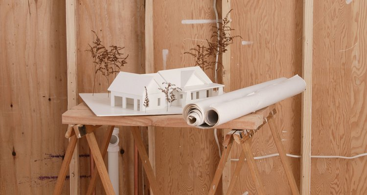 Los travesaños colocados a 16 pulgadas (40 cm) de distancia se ajustan perfecto a los paneles de yeso laminado de 4 pies (1,2 m) por 8 pies (2,4 m).