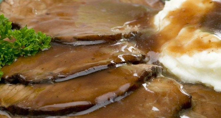 Molho de carne ajuda a disfarçar o gosto da carne seca